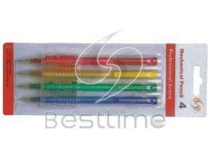 China Triangle plastic barrel 0.9 / 0.7mm Mechanical Pencils / Pencil  coated with rubber MT5048 on sale