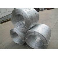 Soft Hot Dipped Galvanized Wire , Mild Steel Binding Wire For Construction