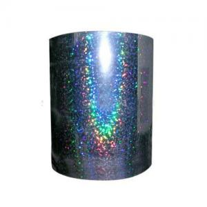China Competitive price metallized BOPP holographic film for lamination and printing with good q on sale