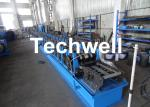 16 Stations Upright Rack Roll Forming Machine With Hydraulic Decoiler TW-RACK