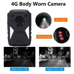 China Full HD 1440P 3G 4G Security Guard Wireless WIFI Police Video Body Worn Camera supplier