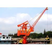 Lattice Boom Harbour Crane 25 Ton Impact Resistance Running Smoothly