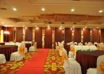 Portes internes triples de salle de conférence, porte de pliage interne pour le banquet Hall
