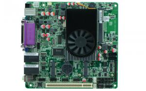 China Mini ITX Intel Atom D2500 Motherboard Used ATM POS Machine 6X COM on sale