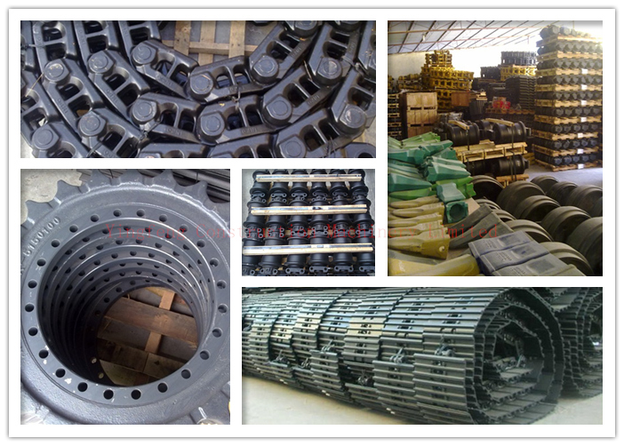 600mm Rubber Track Shoes Excavator Undercarriage Parts Excavator and