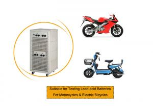 China Motorcycle Lead Acid Battery Testing Equipment Cell Charge Discharge Capacity Test 20V 50A on sale