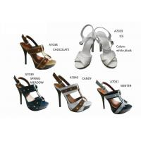 White, Black, Brown Fashion Womens Strappy Sandals Simple And Elegant Design