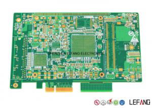 China Gold Finger Immersion Gold Electronic Circuit PCB For Medical Impedance Module on sale