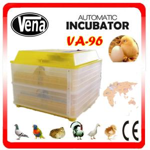China High hatching rate 96 eggs mini chicken egg incubator for sale on sale