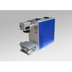 China High Precision Portable Fiber Laser Marker Engraver Systems with 20w 30w on sale