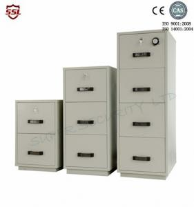 Quality Fire Resistant Filing Cabinet 4 Drawers , 2 Hour Fire Rating Cabinet  For Sale ...