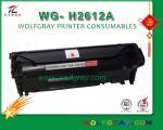 cartouche de toner compatible pour hp2612a