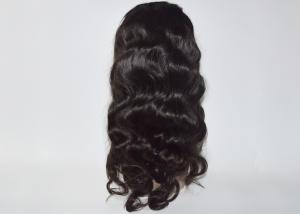 China Unprocessed Brazilian Human Lace Front Wigs , Human Hair Lace Front Braided Wigs on sale