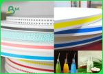 15MM 60gsm Straw Wrapping Paper Roll With Striped Color Print Food Grade Fully Recyclable