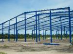 Single Span Industrial Steel Buildings Fabrication With Prefabricated