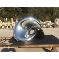 China Metal Large Outdoor Sculpture Flower 2.8 Meter Length For Hotel Decoration on sale