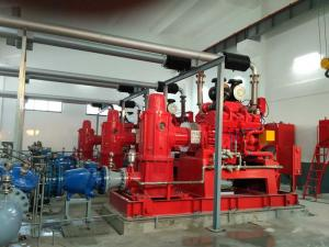 China NM Fire 750 Gpm Vertical Turbine Fire Pump With Electric Motor Driven on sale