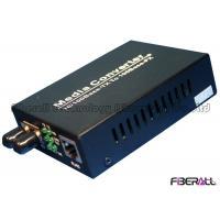 10/100M Dual Fiber 1310nm Optical Media Converter With 1x9 Optical Transceiver SM 40Km