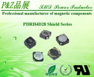 China PDRH4D28 Series 1.2μH~330μH Nickel core ferrite SMD Power  Inductors Round Size on sale
