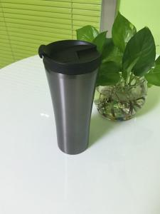China 16oz Stainless Steel Insulated Travel Mugs With Lid , Silk Screen LOGO on sale