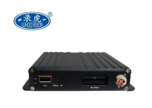 China 128GB Storage CCTV Mobile DVR 1080P 4CH Mini SD Card Bus Vehicle Surveillance on sale