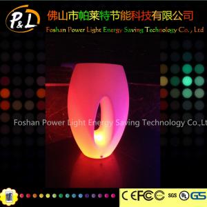 China Fashionable LED Flower Pot / Vase With Led Lights For Bars , Coffee Shops on sale