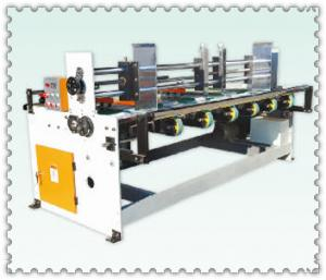 China semi automatic water ink automatic paper feeding printer slotter die-cuttier stack machine on sale