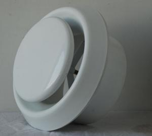 China Round plastic disk air diffuser PG-A, ceiling air conditioner valve on sale