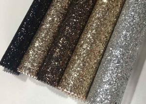 China Single Side Precut Dark Grey Glitter Wallpaper Covering Convenience Unique on sale