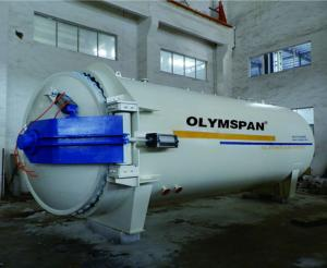 China Full Automatic ASME Composite Autoclave For Aerospace And Automotive supplier