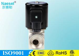 China Compact Dual Solenoid Valve , 1 Inch Asco Diaphragm Valve For Steam Hot Water on sale