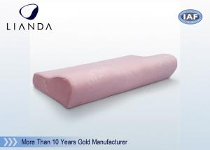 China Durmiente lavable del lado de la cubierta del terciopelo de la felpa de la memoria de las almohadas gigantes de la espuma on sale