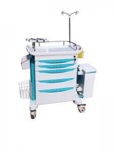 China Plastic Medical Crash Cart on sale