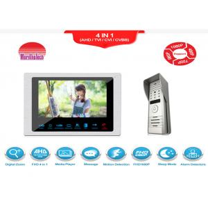 China High definition Wire video intercom doorbell AHD 1080P waterproof video door phone with independent lock function on sale
