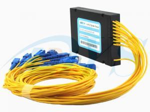 Quality 1*16 0.9mm Optical Fiber Splitter , 1260nm - 1650nm Splitter Module for sale