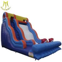 Hansel cheap wholesale small inflatable air track inflatable kids toys for water park