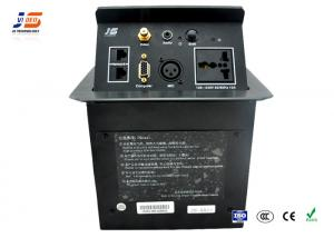 Aluminum Alloy Conference Room Table Connection Box Av Panel - Av table box