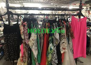 China Wearable Second Hand Fashion Clothes Used Ladies Silk Blouses For Summer on sale