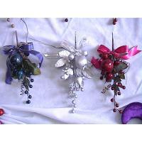 OEM Plastic Personalised Christmas Decorations 3cm Baubles Hanging on Xmas Tree