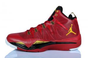 China Nike Jordan Super.Fly 2 Red/Gold/Black $72.98 fron sportsytb. ru on sale
