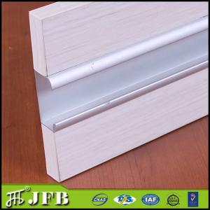 Aluminum Kitchen Cabinet Door Profile Anodized Silver Finish