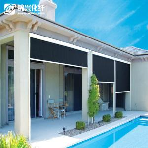 China 70% PVC 30% Polyester Blackout Vertical Window Blinds For Hotel Sunscreen Curtain on sale