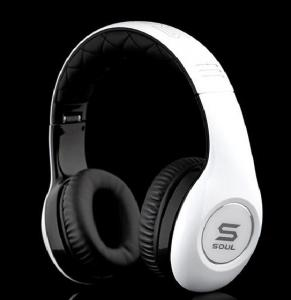 China Soul over -ear headphones by Ludacris SL150 in black&white headsets on sale