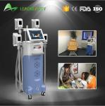 4 handles fat freezing Cryolipolysis cold body sculpting machine