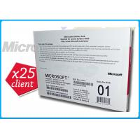 China Microsoft Windows Server 2008 R2 Edition 1-8cpu With 25Clients Genuine Key License on sale