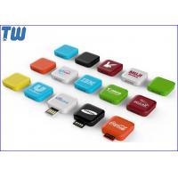 Delicate Mini Swivel Square Box 32GB Flash Drives UDP Memory Chip