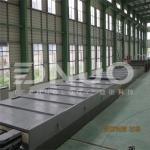 3.2m wide FRP fiberglass gel coat flat sheet making machine(special for truck body)