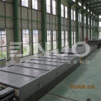 China 3.2m wide FRP fiberglass gel coat flat sheet making machine(special for truck body) on sale