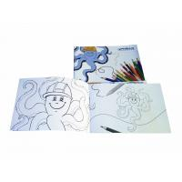 A5 Landscape Coloring Books For Children Painting , Children