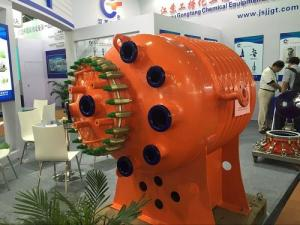 China Chemical industry Half Pipe Jacketed Vessel reactor in chemical plant on sale